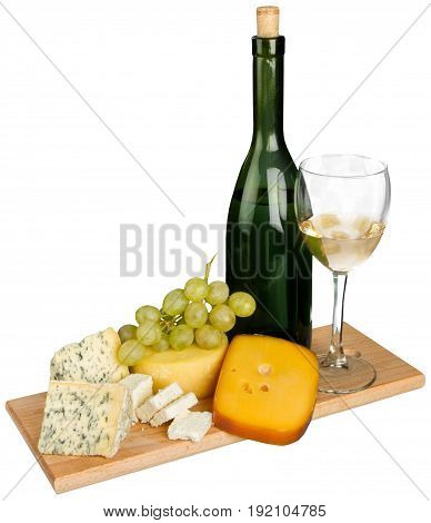 Life wine still cheese grapes table expensive