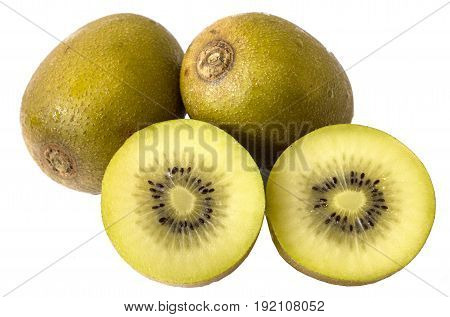 Golden Kiwi Fruit for healty or diet people.