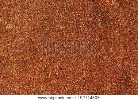 Iron rust texture seamless background. red grunge pattern