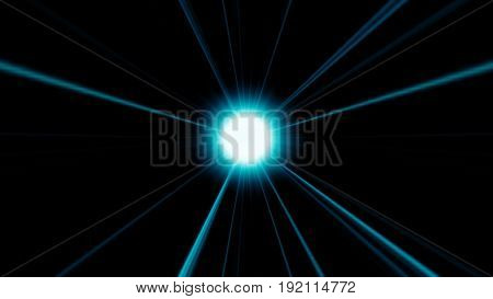 Abstract Background With Futuristic Disco Ball