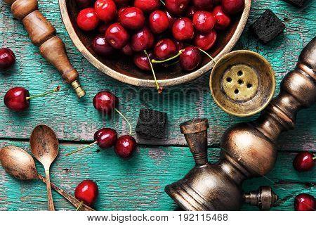 Shisha Hookah With Cherry
