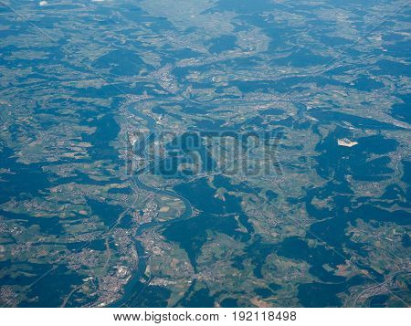Aerial View Of Black Forest
