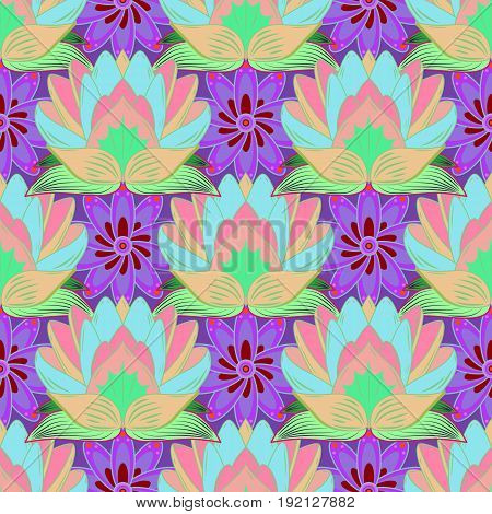 The elegant the template for fashion prints. Vector cute pattern in small flower. Spring floral background with flowers. Small colorful flowers. Motley illustration.