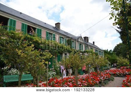 Monet House And Garden, Giverny, France