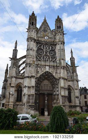 Collegiate Church Notre Dame, Vernon, France