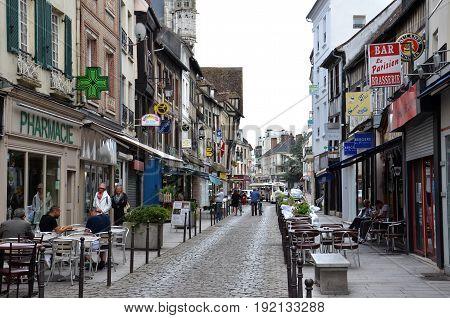 Street In Vernon, France