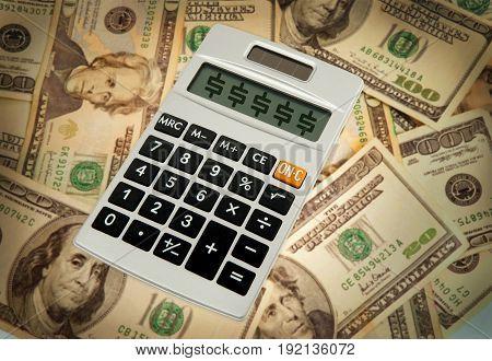 Pocket size calculator for big money budget