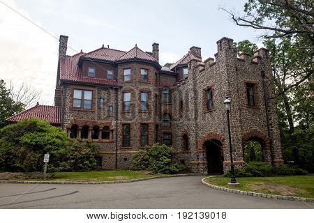 Kip's Castle is a historic mansion in Verona New Jersey