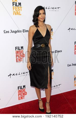 LOS ANGELES - JUN 19:  Stephanie Sigman at the 2017 Los Angeles Film Festival -