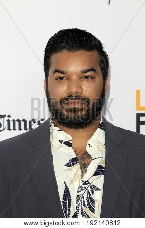 LOS ANGELES - JUN 19:  Adrian Dev at the 2017 Los Angeles Film Festival -