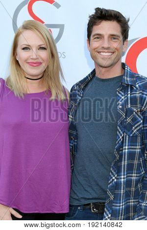 LOS ANGELES - JUN 15:  Adrienne Frantz, Scott Bailey at the Gray Studios Showcase at the Grays Studios, 5250 Vineland Ave. on June 15, 2017 in North Hollywood, CA