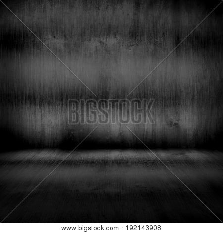 stained metal interior background