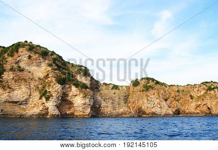 Adriatic coast in Montenegro, Budva, Europe