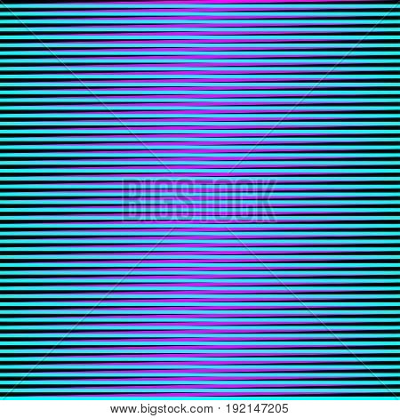 Abstract vector seamless op art pattern. Colorful moire ornament.