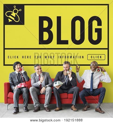 Blog Life Records Internet Concept