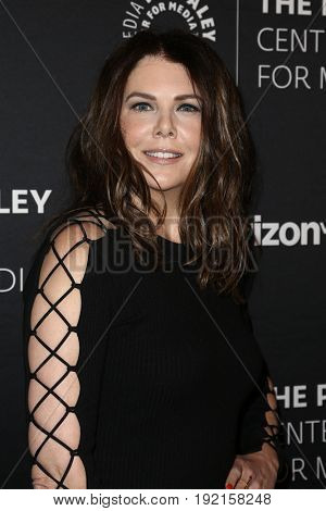 NEW YORK - MAY 17: Lauren Graham attends The Paley Honors: Celebrating Women in Television at Cipriani Wall Street on May 17, 2017 in New York City.