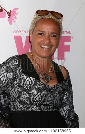 LOS ANGELES - JUN 13:  Shari Belafonte at the Women in Film Los Angeles Celebrates the 2017 Crystal and Lucy Awards at the Beverly Hilton Hotel on June 13, 2017 in Beverly Hills, CA