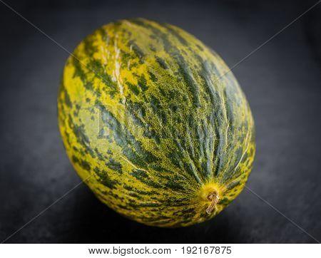 Some Futuro Melons On A Dark Slate Slab
