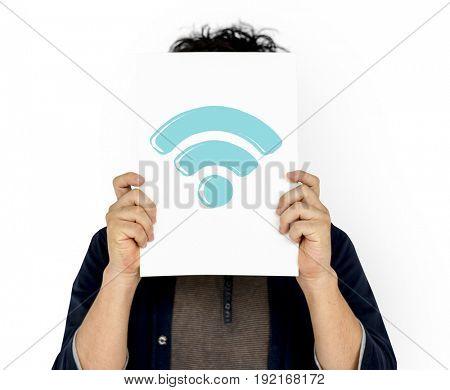 Wifi internet signal digital network connection