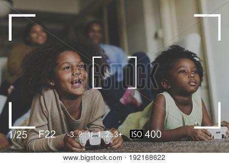Camera Application Capture Snap Shot Vector Graphic