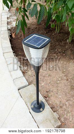 Outdoor park lighting pole, energy saving power pole,