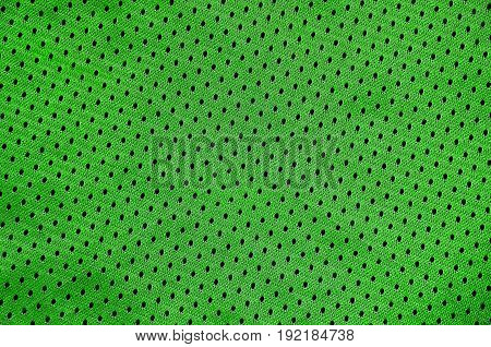 Sport Clothing Fabric Texture Background. Top View of Cloth Textile Surface. Colored Basketball Shirt with Text Space