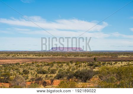 Mount Conner one of the spectacular landscape of Australian outback, Northern Territory, Australia.