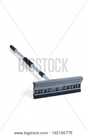 Squeegee mop on a white background