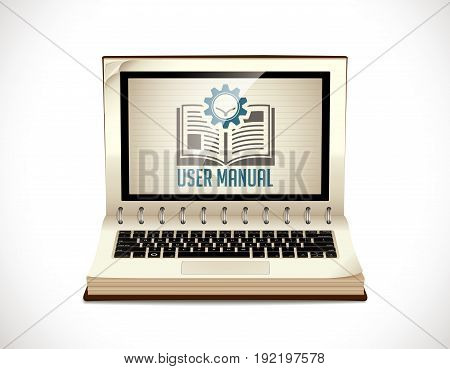Book as knowledge base - User guide manual concept
