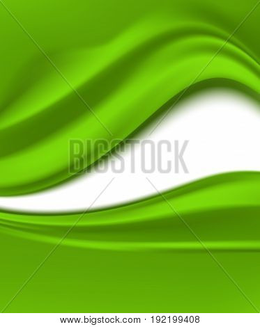 abstract folding green vertical background. vector illustration