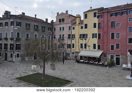 View Of The City Of Venice