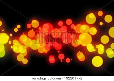 Abstract Light Bokeh Background.Abstract circular bokeh background
