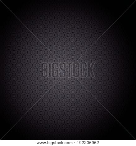 Carbon metallic texture. Dark abstract greed background.