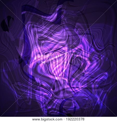 Twirl luminous light putple abstract background for design