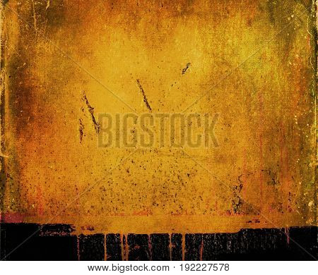 Yellow abstract background. Yellow abstraction. Yellow background. Yellow. Tan.