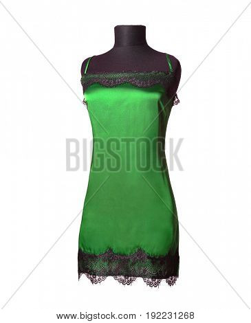 Green nightgown