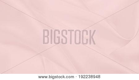 Smooth Elegant Pink Silk Or Satin Texture As Wedding Background. Luxurious Background Design