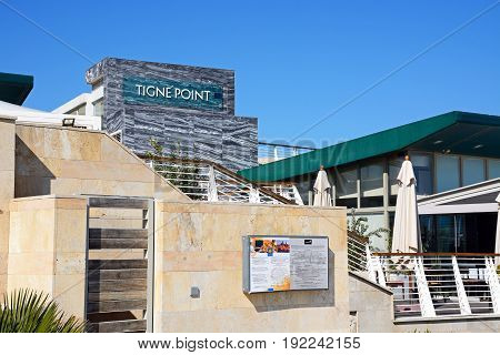 SLIEMA, MALTA - MARCH 30, 2017 - Restaurant in Tigne Point shopping centre Sliema Malta Europe, March 30, 2017.