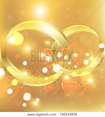 Background for wedding. Holiday wedding. Wedding rings. Wedding ring.