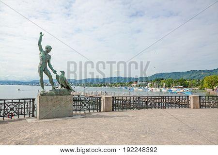 Ganymed Statue, Zurich, Switzerland