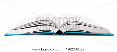White open book object nobody horizontal paper