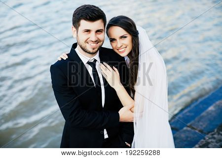 Sensitive Wedding Photo