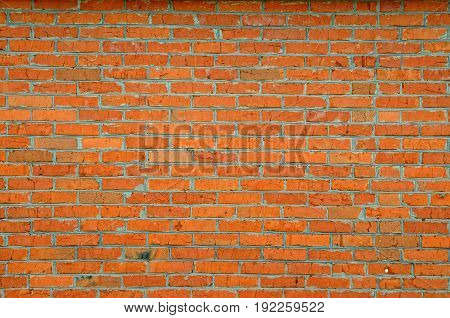 Background of old grunge vintage brick wall