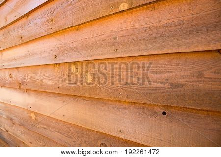side view of Vintage wood background and texture