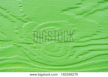 Closeup Green wooden wall texture background Wallpaper .