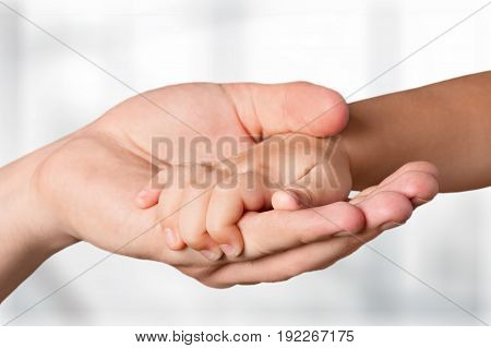 Young old hands white isolated years closeup