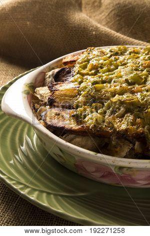 Pirarucu De Casaca With Banana - Traditional Amazonian Dish