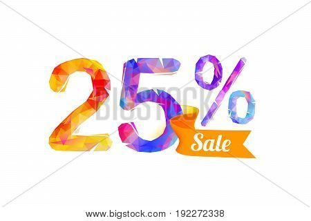 25 (twenty Five) Percents Sale