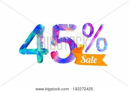 45 (forty Five) Percents Sale