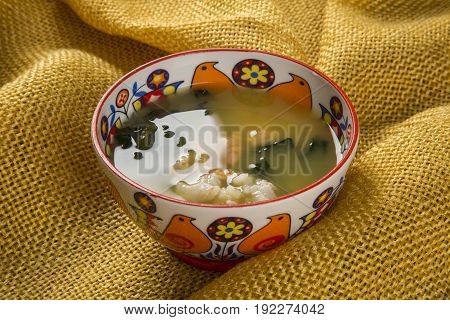 Tacaca Is A Specialty Cuisine Amazon. Served In A Natural Bowl, Tucupi Boiling Is Poured Over A Gum